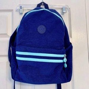 KIPLING Bouree Blue Backpack Ink & Light Blue